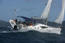Sun Odyssey 39  DS: Navigating in Caribbean